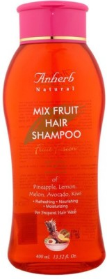 Anherb Combo of Mix Fruit Shampoo (Pack of 2)
