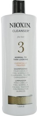 Nioxin Cleanser System 3 Fine Treated Normal To Thin Looking