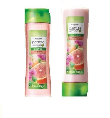 Oriflame Nature Secrets Anti-Dandruff Shampoo & Conditioner with Burdock & Grapefruit