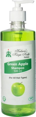 Kulsum's Kaya Kalp Green Apple Shampoo