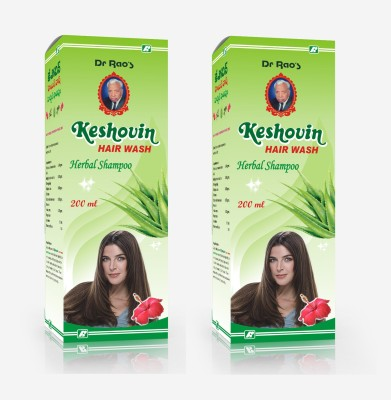 Dr.Rao's Keshovin(Hair Wash)(200ml)(pack Of 2)