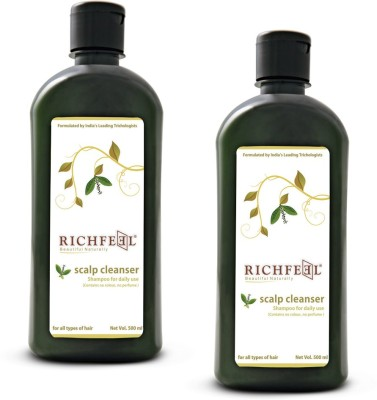 Richfeel Scalp Cleanser Pack Of 2