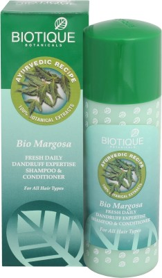 Biotique Bio Margosa Fresh Daily Dandruff Expertise Shampoo & Conditioner