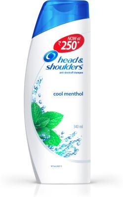 Head & Shoulders Cool Menthol Shampoo(340 ml)