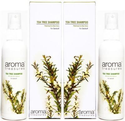 Aroma Treasures Tea Tree Shampoo (100ml) (Pack Of 2)