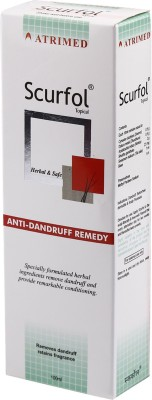 Atrimed Scurfol Topical Anti-Dandruff Remedy