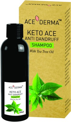 Ace Derma Keto Ace Anti Dandruff Shampoo With Tea Treee Oil