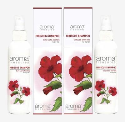 Aroma Treasures Hibiscus Shampoo (100ml)(Pack Of 2)