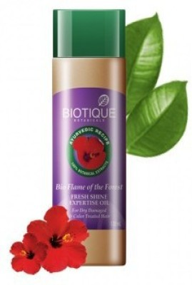 Biotique Hair Care Hair Oil to Prevent Dandruff and Hair Loss Flame Of The Forest