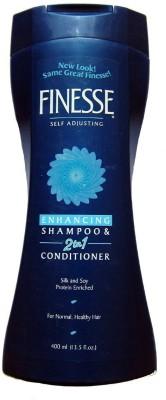 Finesse Self Adjusting Enhancing 2 In 1 Shampoo & Conditioner