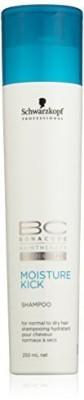 Schwarzkopf BC Moisture Kick Shampoo - For Normal to Dry Hair (New Packaging) 250ml/8.4oz(250 ml) at flipkart