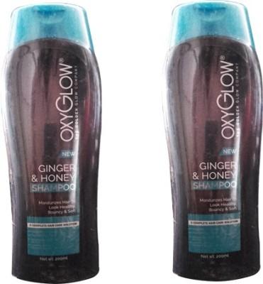 Oxyglow Ginger & honey Shampoo