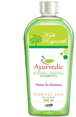 Kesh Regrowth Neem & Aloevera Ayurvedic Medicinal Shampoo