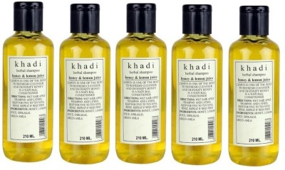 Khadi Herbal Herbal Honey & Lemon Juice Shampoo - Family Pack