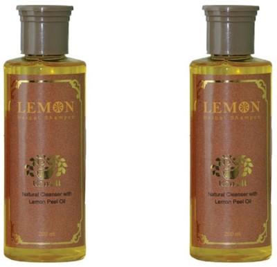 Kairali Lemon Shampoo (200 ml) - natural cleanser with lemon peel oil