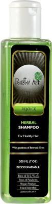 Rustic Art Biodegradable Herbal Shampoo