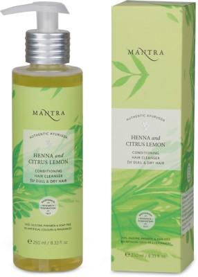 Mantra Henna & Citrus Lemon Conditioning Hair Cleanser