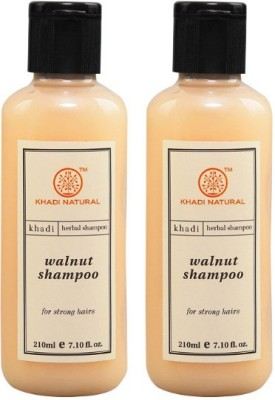 Khadi Natural Walnut Shampoo (Set of 2)