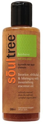 SoulTree Licorice, Shikakai & Bhringraj with Nourishing Coconut Oil