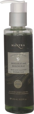 Mantra Shikakai And Bhringraj Mild Hair Cleanser