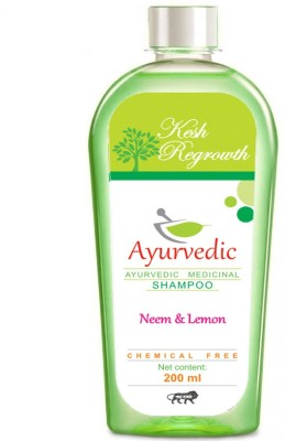 Kesh Regrowth Neem & Lemon Ayurvedic Medicinal Shampoo