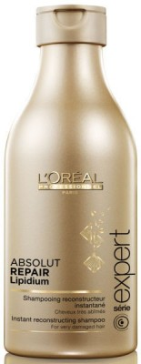 L'Oreal Paris absolute repair lipidium shamppoo(250 g) at flipkart