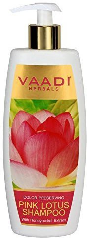 Vaadi Herbals Lotus with Honeysuckle Extract Shampoo - ? Color Preserving Shampoo - ? ALL Natural Herbal Shampoo - ? Paraben Free - ? Sulfate Free - ? Scalp Therapy - ? Moisture Therapy - ? Suitable for All Hair Types - 11.8 Ounces - Vaadi Herbals(348 ml)