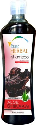 Vibrant Aloe Shikakai Herbal Shampoo