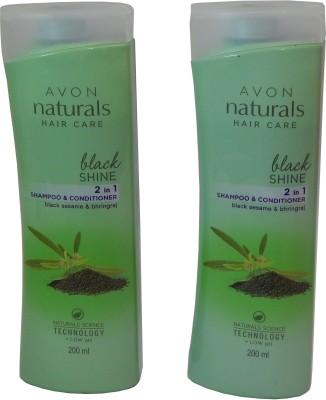 Avon Naturals Hair Care 2 in 1 Shampoo & Conditoner (Set of 2)