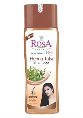 Rosa Herbals Henna Tulsi Shampoo