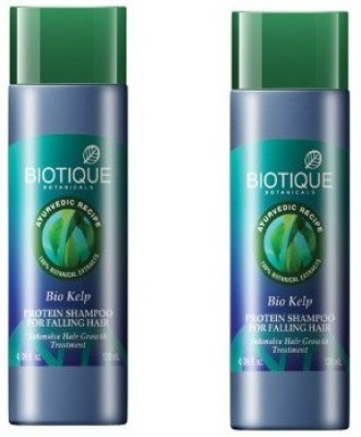 Biotique Bio Kelp Fresh Growth Protein Shampoo( pack of 2 )