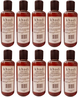 Khadi Herbal Honey & Almond Oil Shampoo