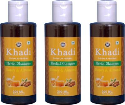 Khadi Natural Honey And Almond Aerbal Shampoo