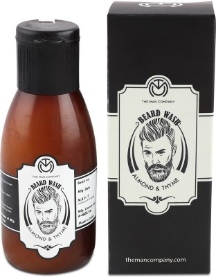 The Man Company Beard Wash - Almond and Thyme