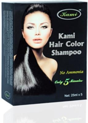 Telebuy Kami Black Hair Dye Shampoo