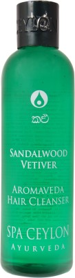 Spa Ceylon Ayurveda Sandalwood Vetiver Aromaveda Hair Cleanser