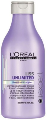 LOreal Paris liss Unlimited KeratinOil Comlex Smoothing Shampoo(250 ml)