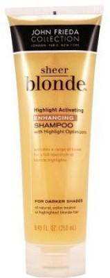 John Frieda Sheer Blonde Highlight Activating Enhancing Shampoo - Darker Shades