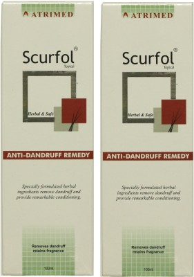 Atrimed Scurfol Anti-Dandruff Topical Pack of 2