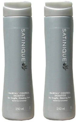 Amway Satinique Hairfall Control Shampoo - 250 ml (Pack Of 2)