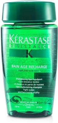 Kerastase Kerastase Resistance Bain Age Recharge Shampoo (For Tight Scalps & Hair Losing Vitality)(250 ml) at flipkart