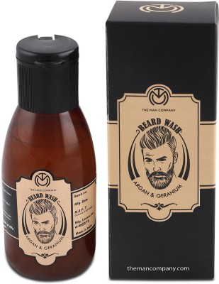 The Man Company Beard Wash- Argan & Geranium