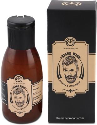 The Man Company Beard Wash- Argan & Geranium