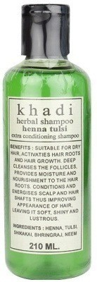 Khadi Herbal Henna Tulsi Shampoo