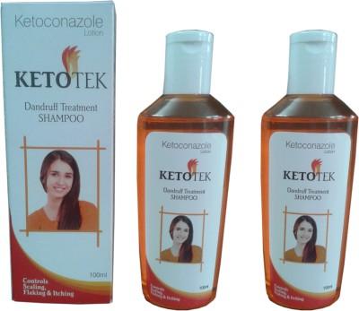 Ketotek Shampoo (Control Scaling, Flaking & Itching)