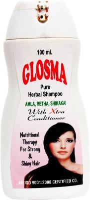 Glosma Pure Herbal Shampoo with Amla, Retha and Shikakai