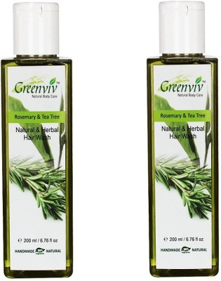 Greenviv Natural Rosemary Tea Tree Hair Wash