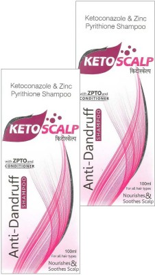 Ketoscalp Anti-Dandruff Shampoo Pack Of 2