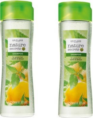 Oriflame Nature Secrets Shampoo For Greasy Hair Nettle & Lemon Pack Of 2