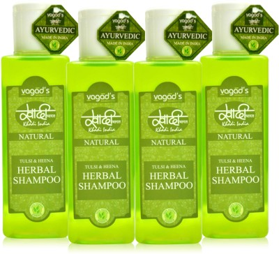 Khadi Natural Tulsi & Heena shampoo